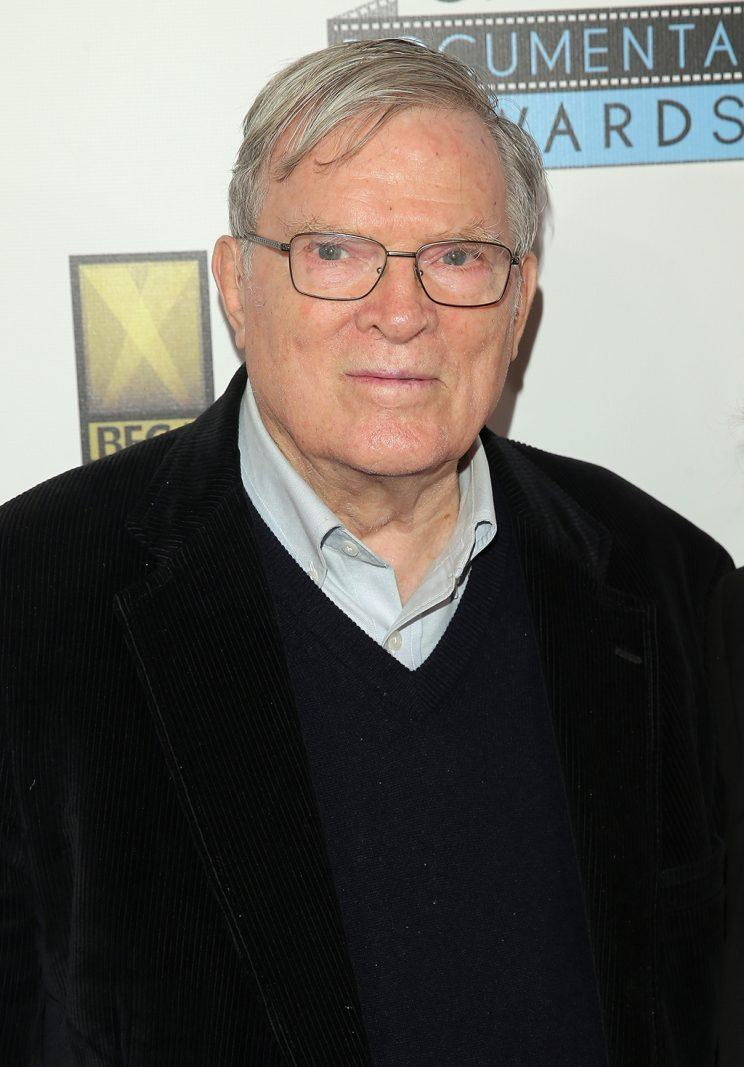 D.A. Pennebaker in Brooklyn in 2016