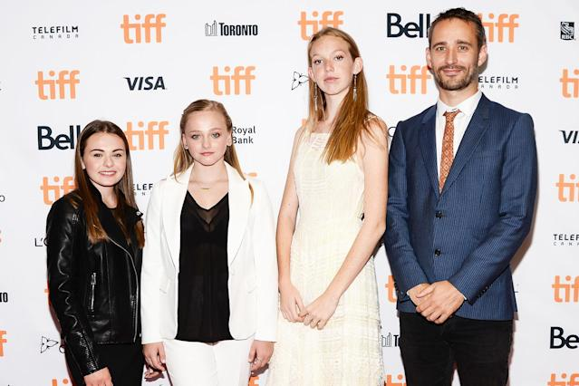 Sydney Wade, Madison Wolfe, Rory Jackson and director Anders Walter attend the <em>I Kill Giants</em> premiere during the 2017 Toronto International Film Festival. (Photo: Tara Ziemba/Getty Images)