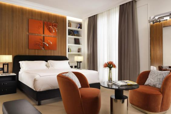 Work up a sweat before relaxing in the contemporary rooms (First Roma Dolce)