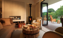 """<p>There may be a fine luxury hotel next-door, but it's much more fun to stay at the Treehouses at Chewton Glen – hidden in the heart of the New Forest, with some linked by Tarzan-approved walkways through the forest canopy. Each has its own hot tub on the deck, or you can warm up inside by the fire or in the forest-facing freestanding bath tub. A breakfast hamper will be delivered each morning, or order room service to your private playground. There are even spa treatments designed to be performed here to fully make the most of both the nearby coast and the surrounding woods.</p><p>The Treehouses at Chewton Glen, from £1,150 a night (<a href=""""https://www.chewtonglen.com/stay-over/treehouses/"""" rel=""""nofollow noopener"""" target=""""_blank"""" data-ylk=""""slk:chewtonglen.com"""" class=""""link rapid-noclick-resp"""">chewtonglen.com</a>).</p>"""