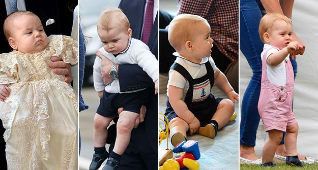 Prince George clothes