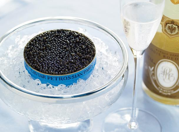 "<div class=""caption-credit""> Photo by: COURTESY OF PETROSSIAN.COM</div><b>Most Expensive Seafood: Sturgeon Caviar</b> <br> <br> <b>What:</b> Sturgeon caviar is the salted eggs, or roe, of the massive sturgeon fish. The world's most expensive caviar comes from the beluga species of sturgeon, but imports of this variety have been banned from the United States since 2005 in order to protect the endangered fish. Farmed osetra sturgeon caviar is currently the highest-end sustainable option on the U.S. market, prized for its firm, juicy eggs and nutty flavor. But beware: The term caviar is also used to refer to the salted roe from less desirable fish, including paddlefish, whitefish, trout, or lumpfish. <br> <br> <b>How Much:</b> Osetra caviar retails for up to $12 per gram for the choicest grades, which translates into roughly $500 per serving. <br> <br> <b>Why Pay More:</b> It takes the female osetra an average of 10 years to produce her first eggs, at which point she may weigh hundreds of pounds, which means that farming the roe is a long, expensive undertaking. And since the wild osetra sturgeon is endangered due to overfishing and pollution, buying and selling the wild version isn't a viable alternative to the costly farming process."