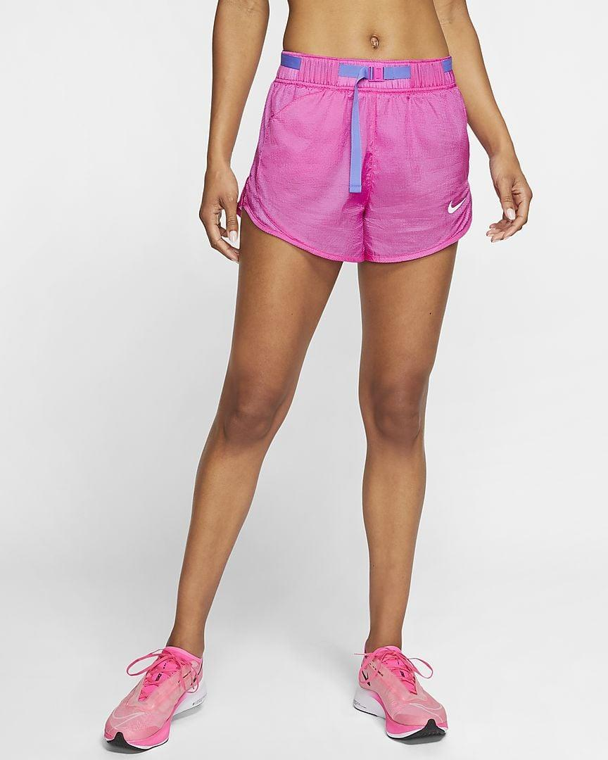 """<p>These <a href=""""https://www.popsugar.com/buy/Nike-Icon-Clash-Running-Shorts-580681?p_name=Nike%20Icon%20Clash%20Running%20Shorts&retailer=nike.com&pid=580681&price=55&evar1=fit%3Auk&evar9=47556269&evar98=https%3A%2F%2Fwww.popsugar.com%2Ffitness%2Fphoto-gallery%2F47556269%2Fimage%2F47556831%2FNike-Icon-Clash-Running-Shorts&list1=shopping%2Cworkout%20clothes%2Crunning%2Cshorts%2Csummer%2Crunning%20clothes%2Cfitness%20shopping&prop13=api&pdata=1"""" class=""""link rapid-noclick-resp"""" rel=""""nofollow noopener"""" target=""""_blank"""" data-ylk=""""slk:Nike Icon Clash Running Shorts"""">Nike Icon Clash Running Shorts</a> ($55) are classics, and the colorblock belt adds a cool twist.</p>"""