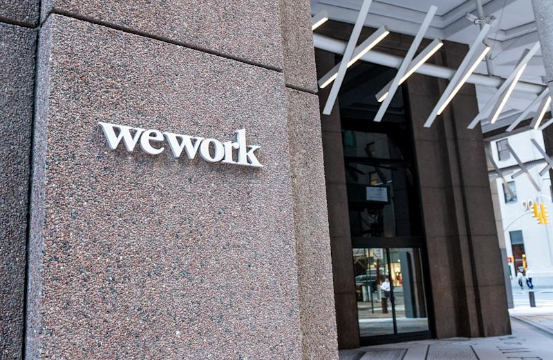 NEW YORK, NY, UNITED STATES - 2018/07/19: WeWork location in the Financial District in New York City. (Photo by Michael Brochstein/SOPA Images/LightRocket via Getty Images)