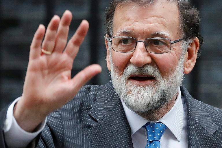 Spanish Prime Minister Mariano Rajoy's party only has 137 lawmakers out of 350