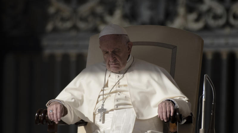 Even Pope Francis Falls Asleep Sometimes While He's Praying