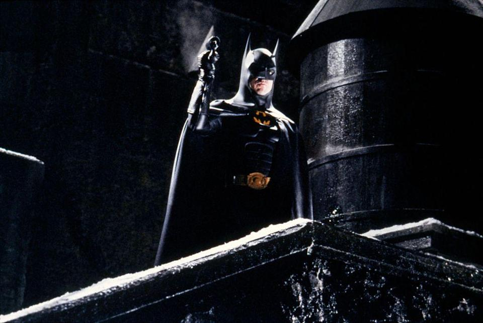 "<p>Batman followed Superman to the big screen with two separate film series (in addition to the <a href=""https://www.amazon.com/Batman-Adam-West/dp/B000N54NGO?tag=syn-yahoo-20&ascsubtag=%5Bartid%7C10055.g.34991876%5Bsrc%7Cyahoo-us"" rel=""nofollow noopener"" target=""_blank"" data-ylk=""slk:1966 Adam West film"" class=""link rapid-noclick-resp"">1966 Adam West film</a> and <a href=""https://www.amazon.com/Batman-Mask-Phantasm-Kevin-Conroy/dp/B001P5QC1U?tag=syn-yahoo-20&ascsubtag=%5Bartid%7C10055.g.34991876%5Bsrc%7Cyahoo-us"" rel=""nofollow noopener"" target=""_blank"" data-ylk=""slk:a pretty excellent animated movie"" class=""link rapid-noclick-resp"">a pretty excellent animated movie</a> from 1993, both of which are TV tie-ins) that precede the present-day DC film universe. All of these are on <a href=""https://go.redirectingat.com?id=74968X1596630&url=https%3A%2F%2Fwww.hbomax.com%2F&sref=https%3A%2F%2Fwww.goodhousekeeping.com%2Flife%2Fentertainment%2Fg34991876%2Fdc-movies-in-order%2F"" rel=""nofollow noopener"" target=""_blank"" data-ylk=""slk:HBO Max"" class=""link rapid-noclick-resp"">HBO Max</a> except <em>Batman Begins</em> and <em>The Dark Knight</em> which are on <a href=""https://go.redirectingat.com?id=74968X1596630&url=https%3A%2F%2Fwww.peacocktv.com%2F&sref=https%3A%2F%2Fwww.goodhousekeeping.com%2Flife%2Fentertainment%2Fg34991876%2Fdc-movies-in-order%2F"" rel=""nofollow noopener"" target=""_blank"" data-ylk=""slk:Peacock"" class=""link rapid-noclick-resp"">Peacock</a>, and <em>The Dark Knight Rises</em>, which is not streaming at the moment.</p><ol><li><em><a href=""https://www.amazon.com/Batman-Michael-Keaton/dp/B0013WJGJ0?tag=syn-yahoo-20&ascsubtag=%5Bartid%7C10055.g.34991876%5Bsrc%7Cyahoo-us"" rel=""nofollow noopener"" target=""_blank"" data-ylk=""slk:Batman"" class=""link rapid-noclick-resp"">Batman</a> </em>(1989)</li><li><em><a href=""https://www.amazon.com/Batman-Returns-Michael-Keaton/dp/B008Y7WYVY?tag=syn-yahoo-20&ascsubtag=%5Bartid%7C10055.g.34991876%5Bsrc%7Cyahoo-us"" rel=""nofollow noopener"" target=""_blank"" data-ylk=""slk:Batman Returns"" class=""link rapid-noclick-resp"">Batman Returns</a> </em>(1992)</li><li><em><a href=""https://www.amazon.com/Batman-Forever-Val-Kilmer/dp/B0026QCHOI?tag=syn-yahoo-20&ascsubtag=%5Bartid%7C10055.g.34991876%5Bsrc%7Cyahoo-us"" rel=""nofollow noopener"" target=""_blank"" data-ylk=""slk:Batman Forever"" class=""link rapid-noclick-resp"">Batman Forever</a> </em>(1995)</li><li><em><a href=""https://www.amazon.com/Batman-Robin-Arnold-Schwarzenegger/dp/B001XV75MG/?tag=syn-yahoo-20&ascsubtag=%5Bartid%7C10055.g.34991876%5Bsrc%7Cyahoo-us"" rel=""nofollow noopener"" target=""_blank"" data-ylk=""slk:Batman & Robin"" class=""link rapid-noclick-resp"">Batman & Robin</a></em> (1997)</li><li><em><a href=""https://www.amazon.com/Batman-Begins-Christian-Bale/dp/B002SS8S7E?tag=syn-yahoo-20&ascsubtag=%5Bartid%7C10055.g.34991876%5Bsrc%7Cyahoo-us"" rel=""nofollow noopener"" target=""_blank"" data-ylk=""slk:Batman Begins"" class=""link rapid-noclick-resp"">Batman Begins</a></em> (2005)</li><li><em><a href=""https://www.amazon.com/Dark-Knight-Christian-Bale/dp/B001XUPF2O?tag=syn-yahoo-20&ascsubtag=%5Bartid%7C10055.g.34991876%5Bsrc%7Cyahoo-us"" rel=""nofollow noopener"" target=""_blank"" data-ylk=""slk:The Dark Knight"" class=""link rapid-noclick-resp"">The Dark Knight</a> </em>(2008)</li><li><em><a href=""https://www.amazon.com/Dark-Knight-Rises-Christian-Bale/dp/B009LREA1S/"" rel=""nofollow noopener"" target=""_blank"" data-ylk=""slk:The Dark Knight Rises"" class=""link rapid-noclick-resp"">The Dark Knight Rises</a></em> (2012)</li></ol>"