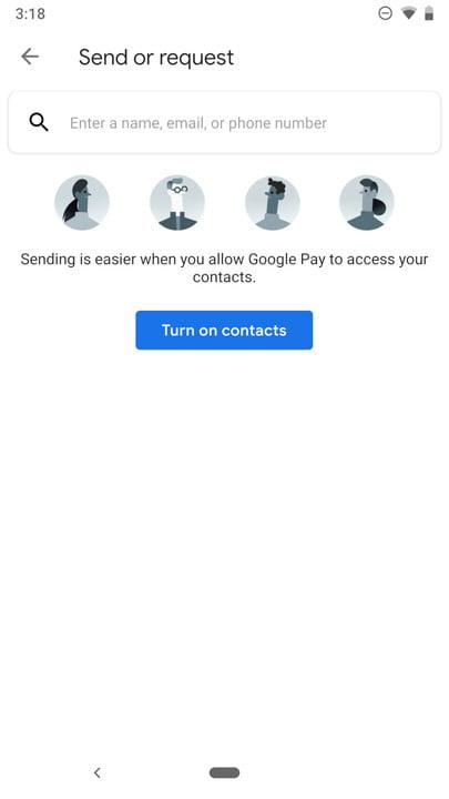 how to use google pay send 2