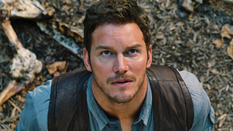 Chris Pratt as Owen Grady in 'Jurassic World'. (Credit: Universal)