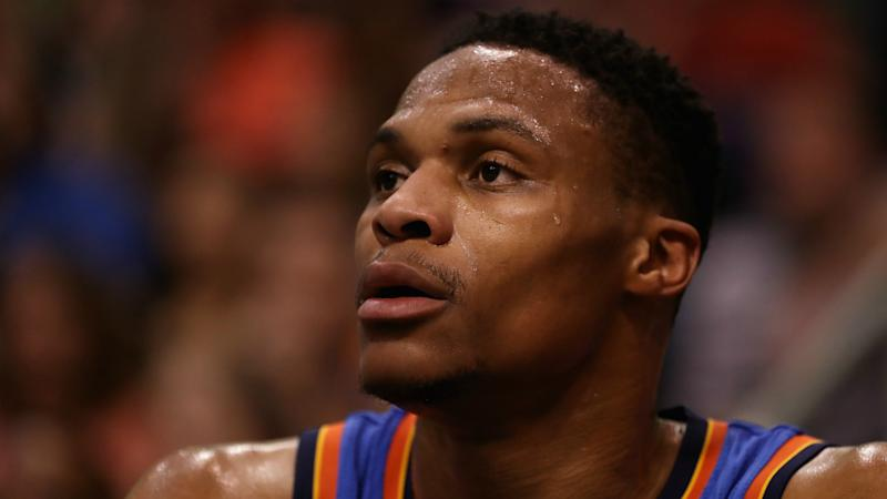 Russell Westbrook drops F-bomb after question about chasing assists