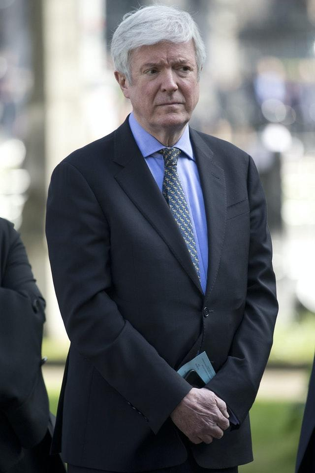 Outgoing director-general Lord Tony Hall
