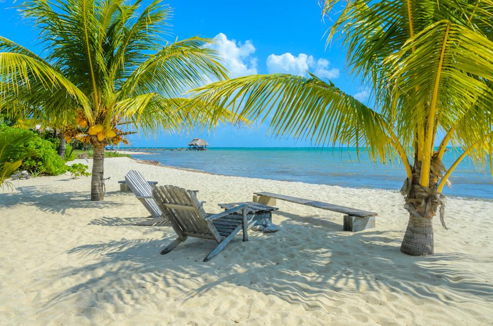 Belize — seen here in a view from Placencia — sure looks nice right now. (Photo: Getty Images)