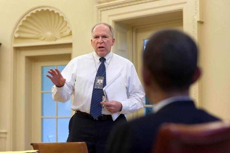 <p>Former CIA director John Brennan</p> (White House photo by Pete Souza)