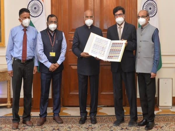 President Kovind inaugurates 72nd TB Seal Campaign of Tuberculosis Association of India at Rashtrapati Bhavan (Photo:President of India/Twitter)
