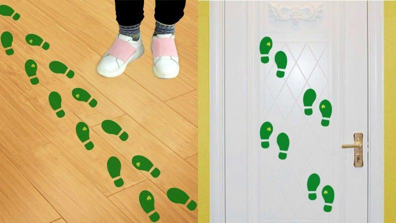 The pitter patter of little feet around your house could be leprechauns.