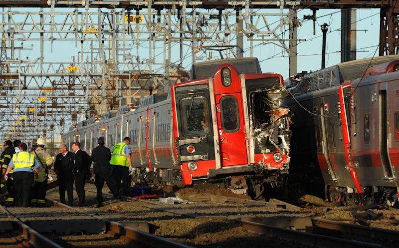 Track inspection found problems before Conn. crash