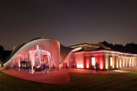 The Serpentine Sackler Gallery, designed by Zaha Hadid - Credit: getty