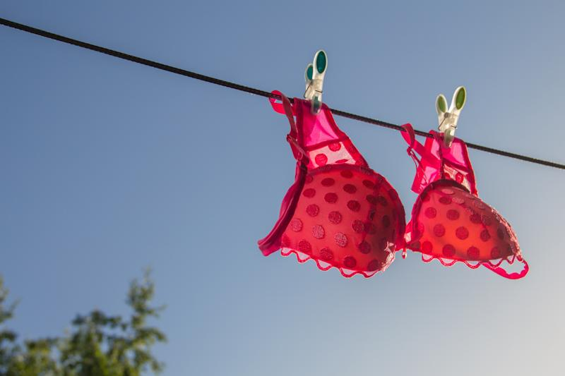 Treat yourself to a cute, comfortable bra you'll feel great in. (Photo: Getty)