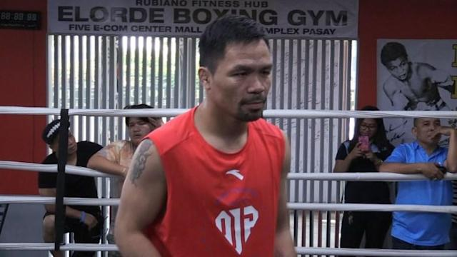 Philippine boxing legend Manny Pacquiao says the outcome of his July bout against Argentine Lucas Matthysse will likely determine whether he will hang up his gloves after a storied career.