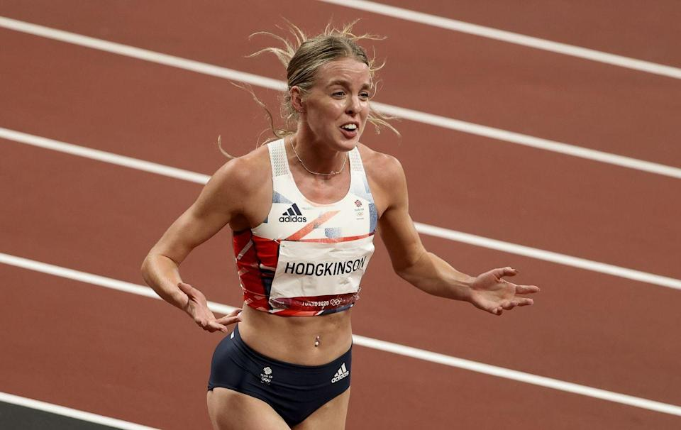 <p>19-year-old Keely Hodgkinson broke Kelly Holmes' British record in the 800m race with a time of 1:55.88, and walked away with a silver medal. She was one of three British women (alongside Jemma Reekie and Alexandra Bell) to qualify for the final race - a first for Team GB in the Olympic games. </p>
