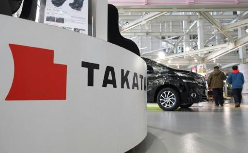 Airbag maker Takata dives 25% on bankruptcy fears