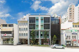 four-storey mixed-use building