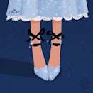 She's not a princess but she is such a sweetheart. A grown up Wendy Darling in Jimmy Choo 'Rosana' pump.