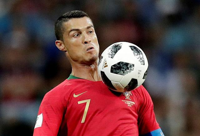 Soccer Football - World Cup - Group B - Portugal vs Spain - Fisht Stadium, Sochi, Russia - June 15, 2018 Portugal's Cristiano Ronaldo in action REUTERS/Ueslei Marcelino TPX IMAGES OF THE DAY