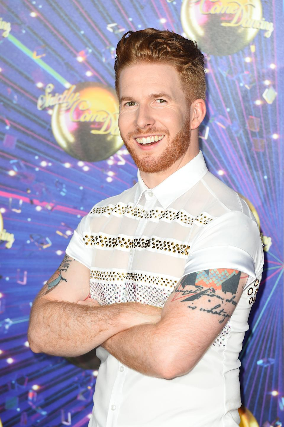 Neil Jones attending the Strictly Come Dancing Launch at the TV Centre, London.