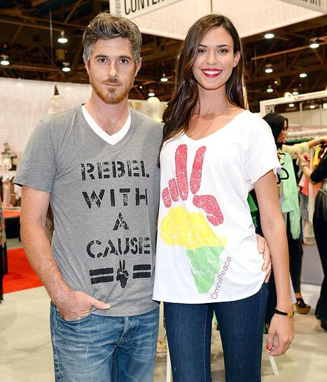 Dave and Odette Annable Help OmniPeace in Las Vegas