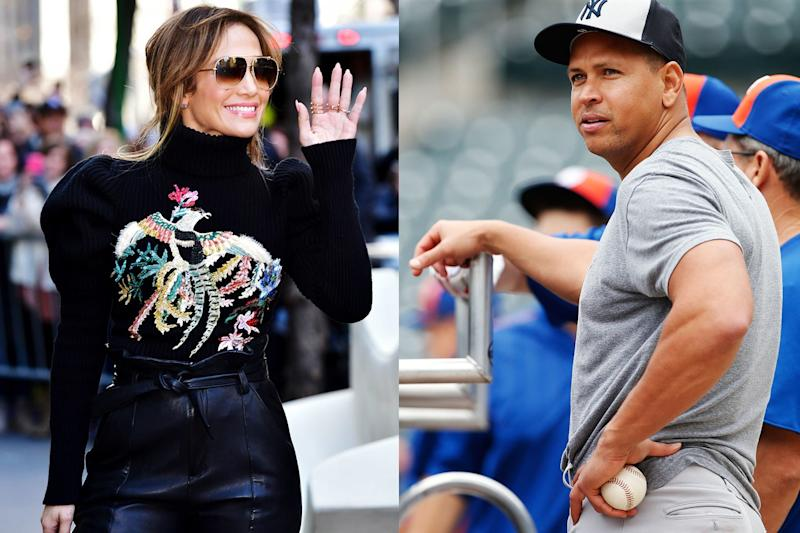 Jennifer Lopez and Alex Rodriguez's Relationship Is Dark-and-Pixelated-Photo Official