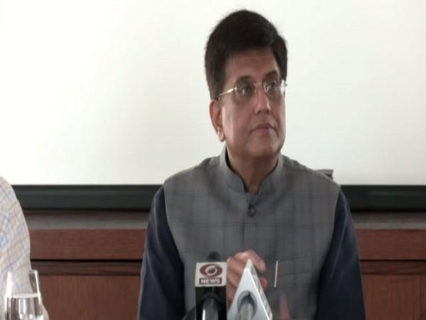 Union Commerce and Industry Minister Piyush Goyal at Dubai Expo 2020.