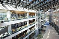 """<p>No need to turn the lights on when you have a five-story <a href=""""http://www.slcpl.lib.ut.us"""" rel=""""nofollow noopener"""" target=""""_blank"""" data-ylk=""""slk:glass atrium"""" class=""""link rapid-noclick-resp"""">glass atrium</a> for a library (with 360 degree views of the city). You can also get a dose of fresh air in the library's rooftop garden full of trees, flowering bulbs and perennial plants. <br></p>"""