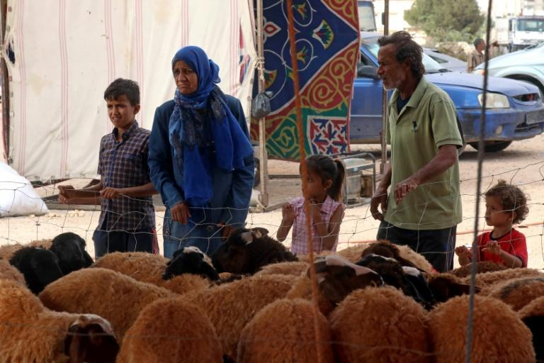 Many Libyan families are struggling to afford a sheep for Eid