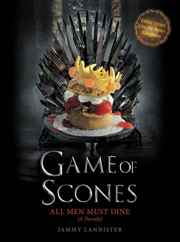 """<p><i>Game of Thrones</i> enthusiasts, or anyone with a sense of humor, really, will appreciate this recipe book, which parodies one of TV's most popular shows. You'll find recipes for red (velvet) wedding cake, Joffrey's Jaffa poison cup, Oberyn's smashing surprise, which is more gruesome than you'd expect. <b>Price: $17. <a href=""""http://www.amazon.com/Game-Scones-Must-Dine-Parody/dp/0062445545/ref=sr_1_1?s=books&ie=UTF8&qid=1449442281&sr=1-1&keywords=Game+of+Scones"""" rel=""""nofollow noopener"""" target=""""_blank"""" data-ylk=""""slk:Get Game of Scones"""" class=""""link rapid-noclick-resp"""">Get <b><i>Game of Scones</i></b></a>. </b><i>(Photo: Harper Design)</i></p>"""