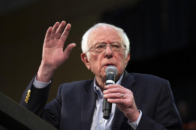 Bernie Sanders (AP Photo/Andy Clayton-King).