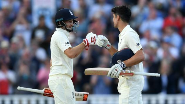 Hard day-night for Windies as Cook and Root dominate
