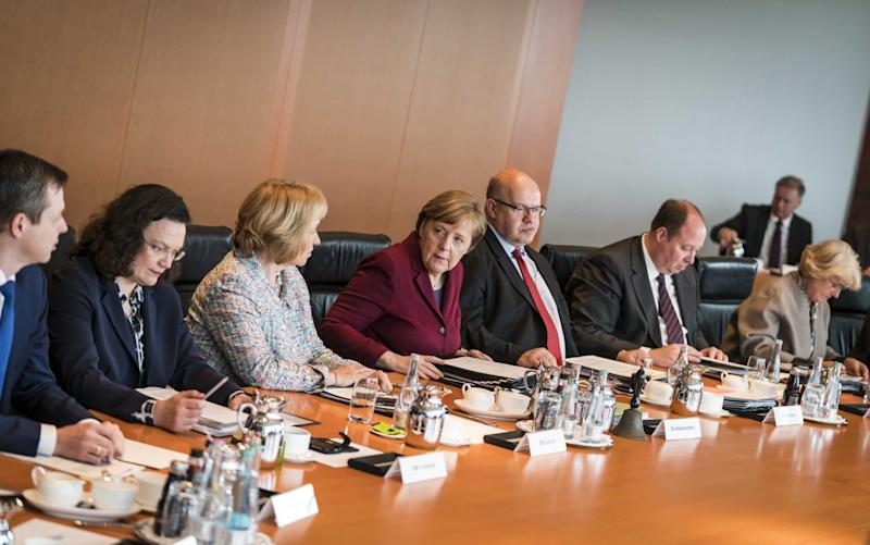 Germany's cabinet approved the measure, which is set to receive parliamentary approval by July - Rex Features
