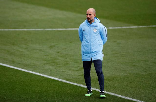 Pep Guardiola is hoping for a cauldron of noise at the Etihad when Manchester City take on Tottenham