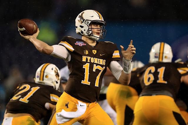 Will the Jets gamble on the high upside of Josh Allen with the No. 3 pick? (Getty)