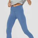 """<p><strong>Aerie</strong></p><p>ae.com</p><p><strong>$44.95</strong></p><p><a href=""""https://go.redirectingat.com?id=74968X1596630&url=https%3A%2F%2Fwww.ae.com%2Fus%2Fen%2Fp%2Faerie%2Fleggings%2F7-8-leggings%2Foffline-real-me-high-waisted-crossover-legging%2F0708_5104_417%3Fmenu%3Dcat4840006&sref=https%3A%2F%2Fwww.elle.com%2Ffashion%2Fshopping%2Fg36181775%2Fbest-athleisure-wear-brands%2F"""" rel=""""nofollow noopener"""" target=""""_blank"""" data-ylk=""""slk:Shop Now"""" class=""""link rapid-noclick-resp"""">Shop Now</a></p><p>You might know them for their bras, but Aerie has some of the most comfortable leggings that don't roll down your stomach. This specific style has been making its way around <a href=""""https://www.tiktok.com/@hannahschlenker/video/6897291323016105221?is_copy_url=1&is_from_webapp=v2&item_id=6897291323016105221"""" rel=""""nofollow noopener"""" target=""""_blank"""" data-ylk=""""slk:TikTok"""" class=""""link rapid-noclick-resp"""">TikTok</a> for its flattering look and flexibility with movement. </p><p><em>Style Pictured Available in XXS to XXL</em></p>"""