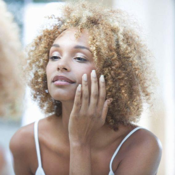 <p>Eating dairy regularly has been proven to result in acne for many people because it stimulates insulin secretion in the body. Eliminating animal products can give you a clear skin with a radiant glow. </p>
