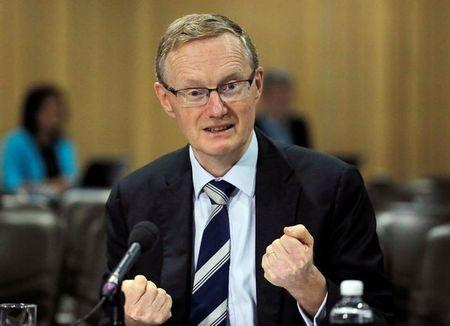 FILE PHOTO - Australia's new Reserve Bank of Australia (RBA) Governor Philip Lowe speaks at a parliamentary economics committee meeting in Sydney, September 22, 2016. REUTERS/Jason Reed