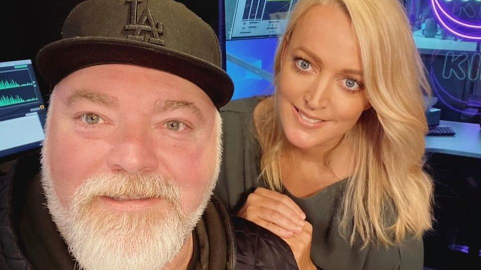 Kyle Sandilands and Jackie 'O' Henderson
