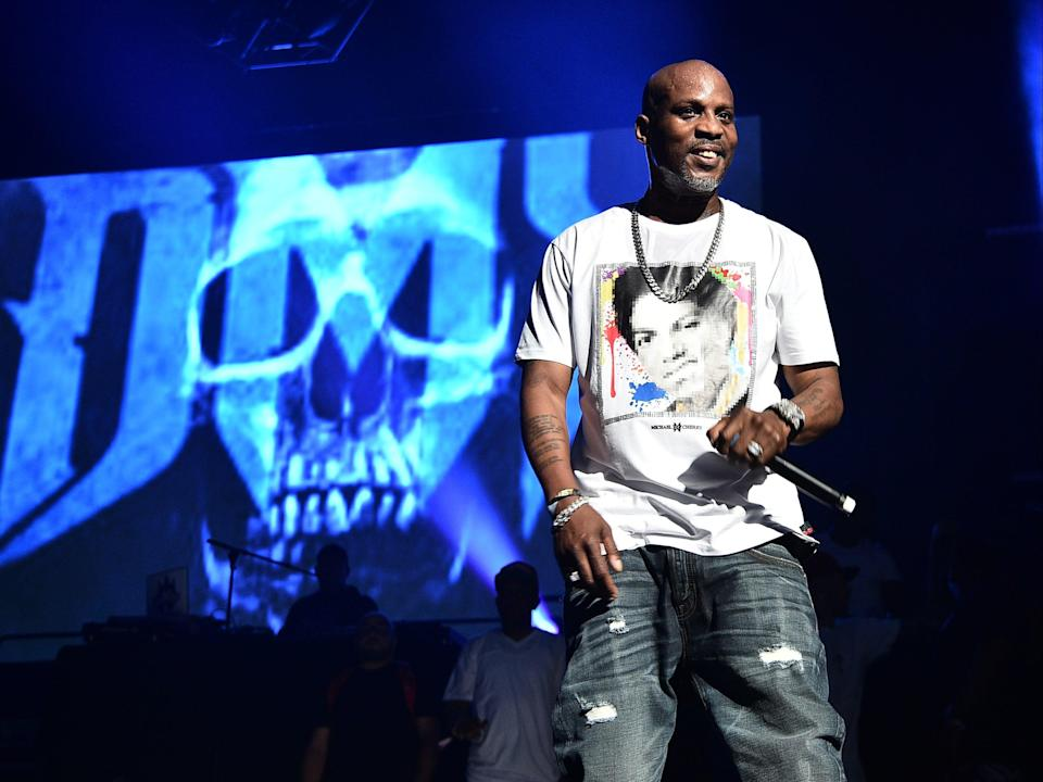 <p>DMX: New song, X Moves, released on the day of rapper's death</p> (Getty Images)