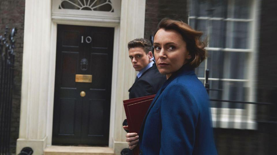 "<p>This political thriller starring Richard Madden (a.k.a. <em>Game of Thrones</em>'s Robb Stark) captured the British imagination in 2018, and now it's available to stream stateside. Madden's character plays the titular bodyguard, who is assigned to protect a high-profile British politician. The show follows the pair as they navigate a particularly complicated political landscape.</p><p><strong>How to Watch:</strong> <em>The Bodyguard</em> is available on <a href=""https://www.netflix.com/title/80235864"" rel=""nofollow noopener"" target=""_blank"" data-ylk=""slk:Netflix"" class=""link rapid-noclick-resp"">Netflix</a>. </p>"