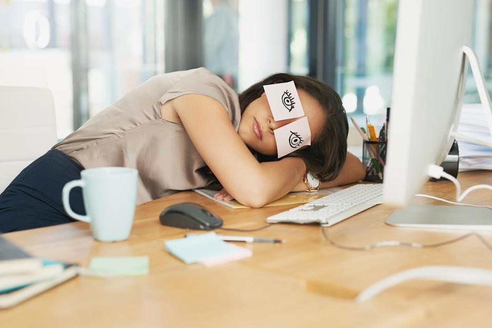 Time to start lobbying your boss for regular naps? [Photo: Getty]