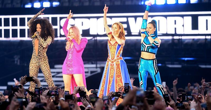 Mel B is currently on tour with the Spice Girls (Getty)