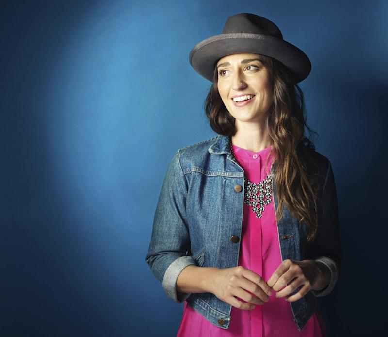 "FILE - In this Nov. 3, 2015 file photo, musician Sara Bareilles poses for a portrait in New York. The singer-songwriter of ""Brave"" and ""Love Song"" will make her Broadway acting debut on March 31, 2017,  in the lead role of Jenna Hunterson in the new Broadway musical ""Waitress."" (Photo by Victoria Will/Invision/AP, File)"
