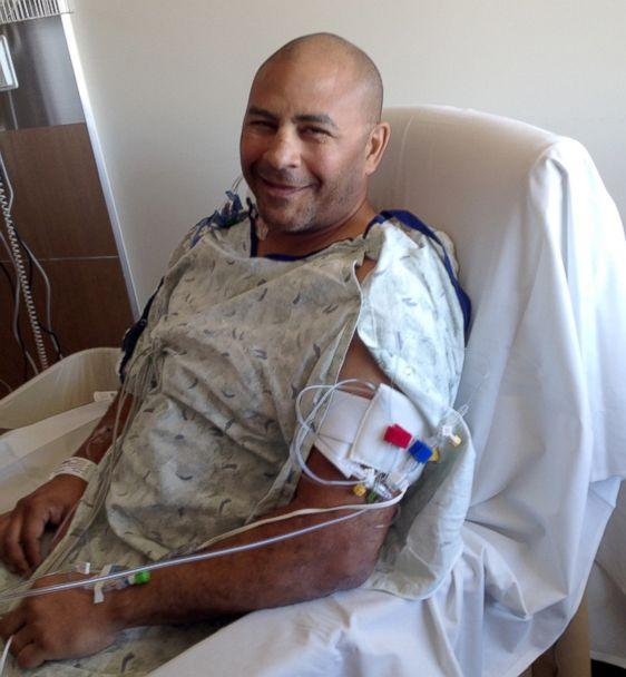 PHOTO: Jeff Bramstedt after waking up from surgery at UCH in Aurora, Colorado. (Jeff Bramstedt)